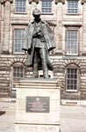 Sherlock Holmes on Picardy Place birthplace of Arthur Conan Doyle