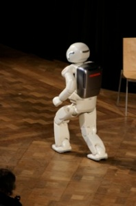 Asimo going through his paces