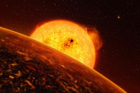 CoRoT satellite discovers rocky planet