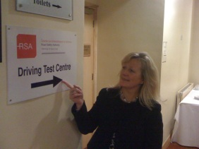 Driving Test Centre in The Fourways Hotel, Dundalk